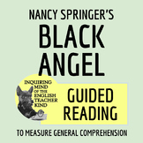 """Black Angel"" by Nancy Springer - Guided Reading Worksheet & Key"