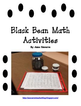 Black Bean Math Activities