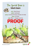 Black Bean Poster - Available in English and Spanish!