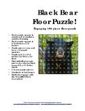 Black Bear 100 Piece Floor Puzzle