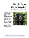 Black Bear 100 Piece Floor Puzzle