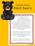 Black Bear Nonfiction Reader/Emergent Reader