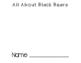 Black Bears Mini Book
