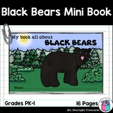 Black Bears Mini Book for Early Readers