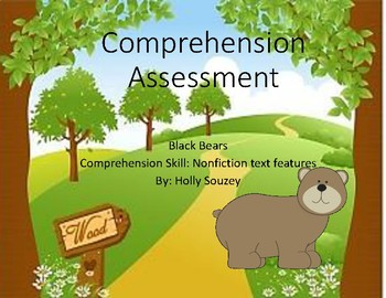 Black Bears Nonfiction Features Test