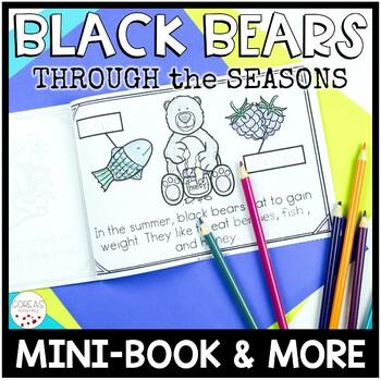 Black Bears Through the Seasons | Mini-Book & More