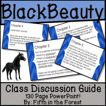 Black Beauty Novel Study BUNDLE (Chpts. 1-2 FREE SAMPLE!)