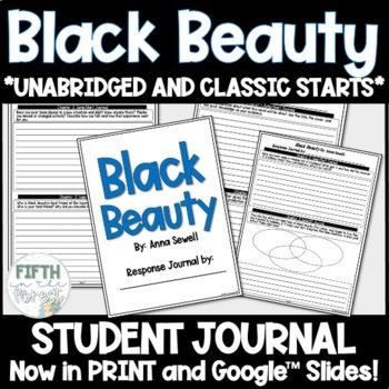 Black Beauty Student Journal PLUS PowerPoint Presentation