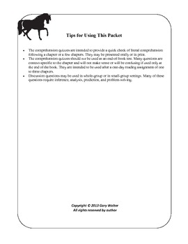 Black Beauty Resource Packet