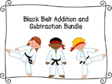 Black Belt Addition and Subtraction Bundle
