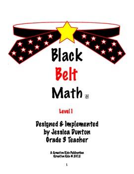 Black Belt Math Level 1