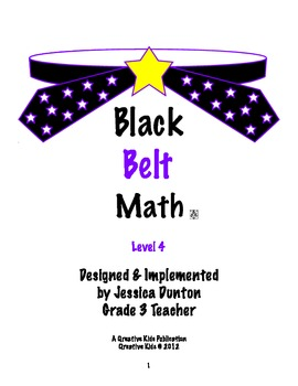 Black Belt Math Level 4
