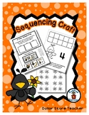 Black Bird Counts 4 - Sequencing Reader Mat & Craft Page