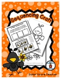 Black Bird & Sunflowers - Sequencing Reader Mat & Craft Page