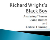 Black Boy by Richard Wright Ch2 Themes and Arguments