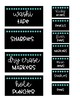 Black & Bright (turquoise dot) Teacher Toolbox Labels- 22 Drawer Toolbox