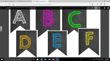 Black & Brights Banner A-Z