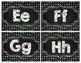 Black & Brights Chalkboard Polka Dot Word Wall Headers