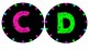 Black & Brights Classroom Decor Pack