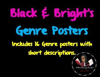 Black & Brights Genre Cards