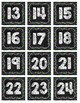Black & Brights Polka Dot Calendar (Chalkboard Brights)