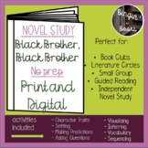 Black Brother, Black Brother Novel Study - Distance Learning