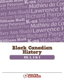 Black Canadian History ESL BUNDLE