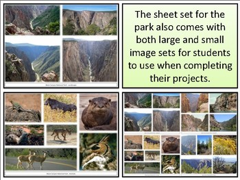 Black Canyon of the Gunnison National Park : Project Materials