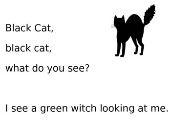 Black Cat, Black Cat Halloween book