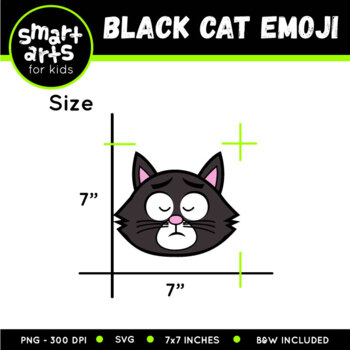 Black Cat Emoji Clip Art