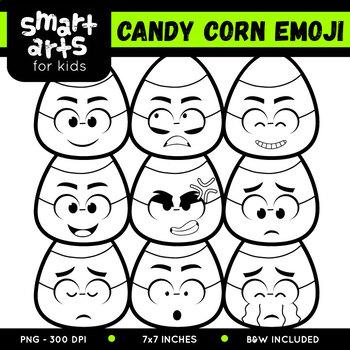 Candy Corn Emoji Clip Art