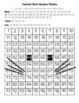 Black Cat Hundred Chart Mystery Picture with Number Cards for Support