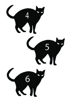 Black Cat Math - Halloween Math Activity