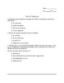 Black Cat Reading Quiz