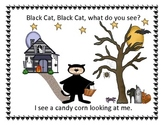 Halloween - Black Cat,What Do You See (ebook/flashcards/flannel board set)