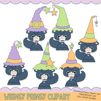 Black Cats - Witches Hat