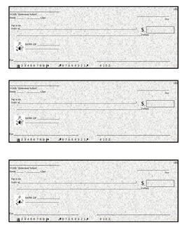 Black Check Templates (Editable)