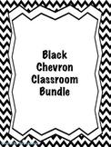 Black Chevron Classroom Bundle