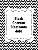 Black Chevron Classroom Jobs