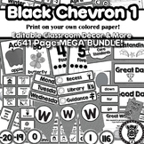 Black Chevron Theme