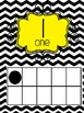 Classroom Decor - Black Chevron and Yellow