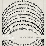 Black Circle Frames 1