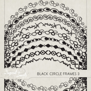 Black Circle Frames 3