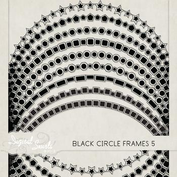 Black Circle Frames 5