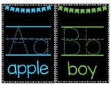Black Classroom Alphabet Signs