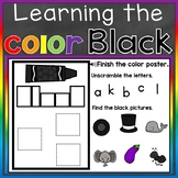 Black Color Recognition Color Word Boom Cards (Learning Co