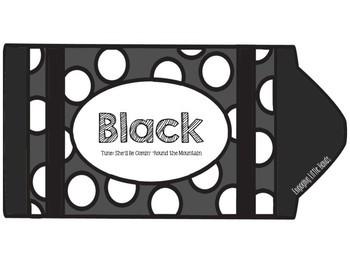 Black Color Song Crayon Book