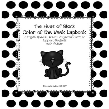 Black Color of the Week Lapbook