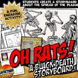 Oh Rats! Black Death Bubonic Plague Story Board Activity Medieval Europe