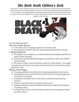 Black Death Children's Book Project & Rubric